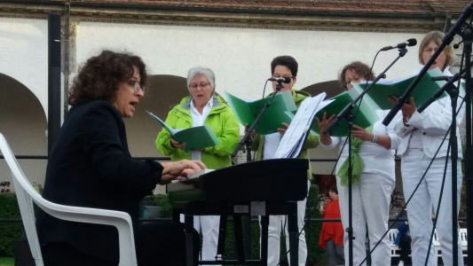 Chorgemeinschaft HinGehört Bad Nauheim, Jugendstilfesival 2017 © Fotostudio Birgit von Ritter Zahony
