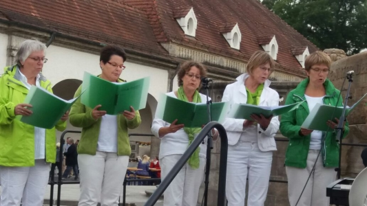 Chorgemeinschaft HinGehört Bad Nauheim, Jugendstilfesival 2017