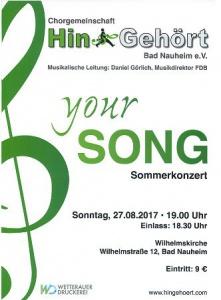 © Chorgemeinschaft HinGehört