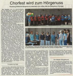 Pressebericht © Wetterauer Zeitung 21.6.2019