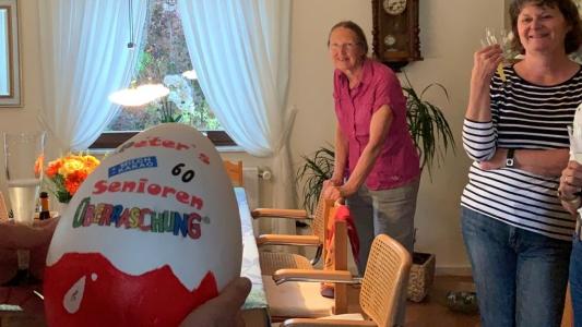 """Ein Überraschungsei für unseren """"Senioren"""""""