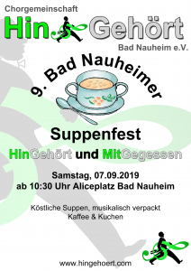 Plakat Suppenfest 2019